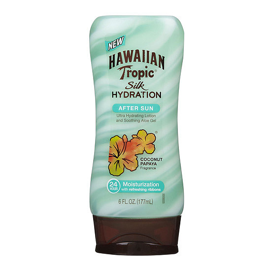 As the name suggests, Hawaiian Tropic Silk Hydration After Sun Lotion ($7) leaves your skin moisturized and feeling silky smooth. Mango and shea butters provide lasting hydration, while the aloe calms skin irritation.