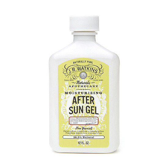 J.R. Watkins Natural Apothecary Moisturizing After Sun Gel ($9) is an alcohol-free formula that blends soothing aloe vera with pain-relieving lidocaine. Smooth on for instant sunburn relief.
