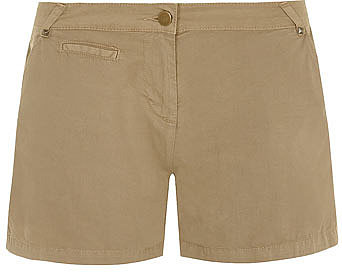 Stone twill casual short
