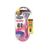 Schick Quattro For Women With Limited Edition Nail Art Stickers, $11.99
