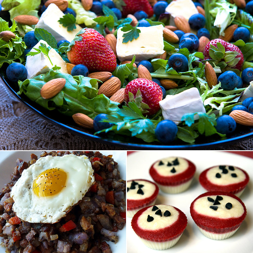 Healthy Red, White, and Blue Recipes to Salute the Fourth