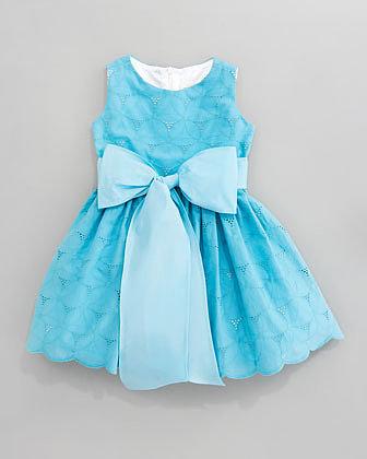 Helena Eyelet Cupcake Dress, Sizes 4-6X