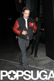 Robert Pattinson attended Beyoncé Knowles's LA concert.