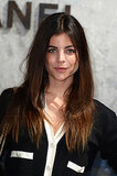 Brushed-out ombré strands and bold brows were the key elements of Julia Restoin Roitfeld's beauty look at Chanel.