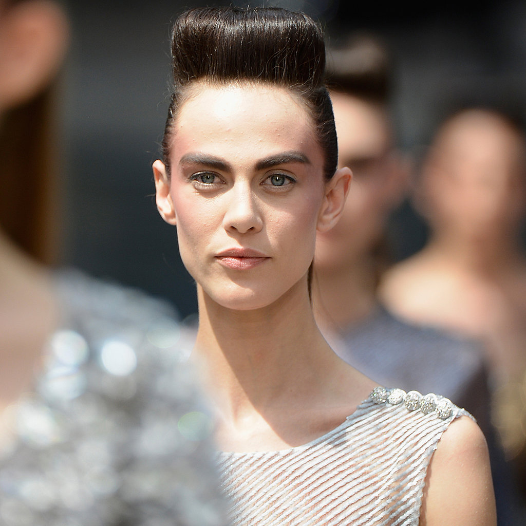Chanel hair paris haute couture fashion week 2013 for Haute hairie