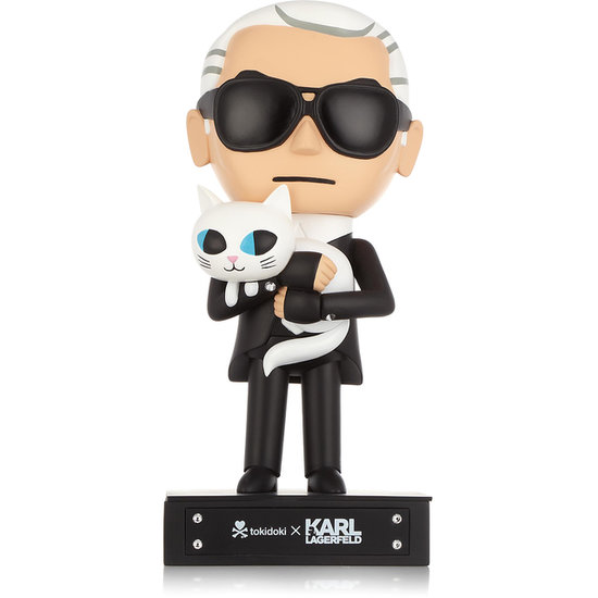 What a Doll: Karl Lagerfeld (and Choupette!) Stars in Tokidoki Collaboration