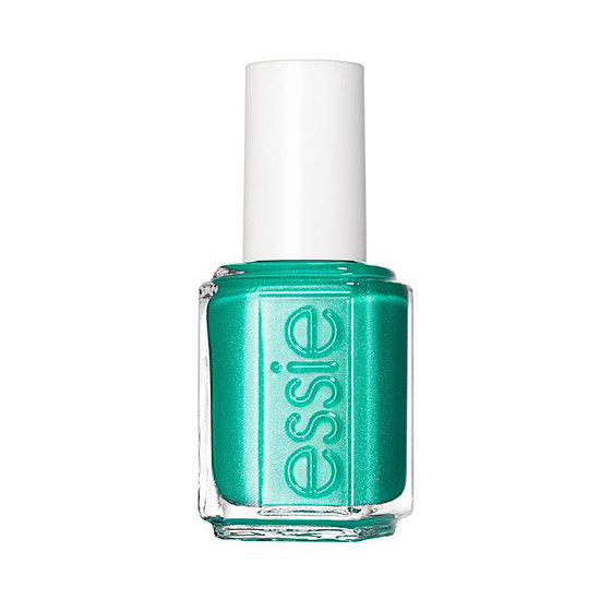 Whether you're headed to the beach or just dreaming about it, a couple coats of Essie Naughty Nautical ($8) will give your digits a scintillating shade of seawater blue.