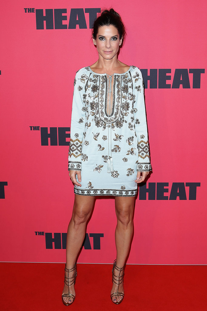 Sandra Bullock attended the Australian premiere of The Heat in Sydney on Tuesday.