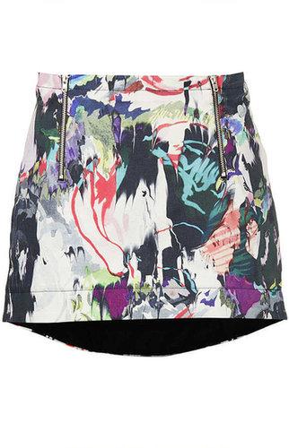Marble Print Pelmet Skirt