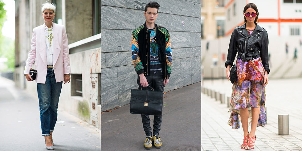 His and Hers: The Best Street Snaps at Men's Fashion Week