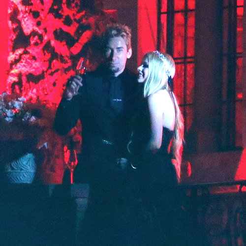 Avril Lavigne and Chad Kroeger Wedding Pictures