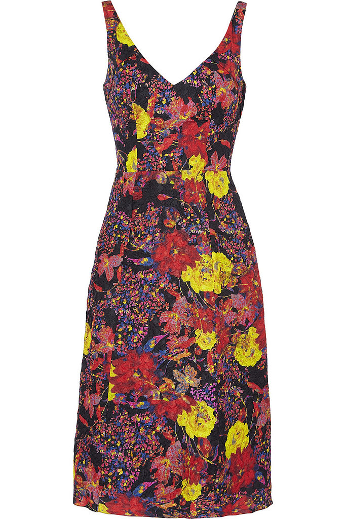 Clarissa Silk-Blend Jacquard Dress ($578, originally $1,445)