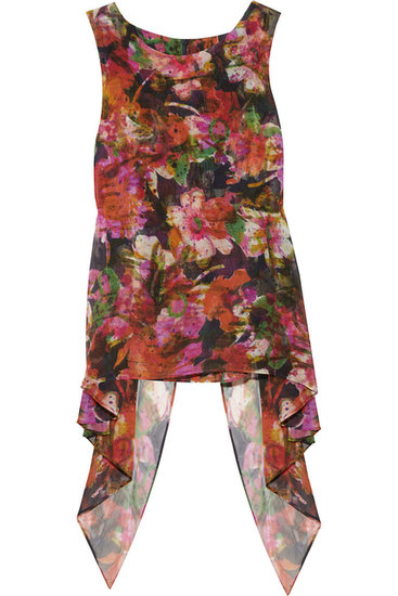 Cadence Layered Silk Top ($300, originally $755)
