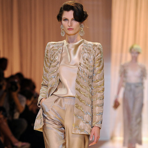 Giorgio Armani Privé Paris Couture Fashion Week | Fall 2013