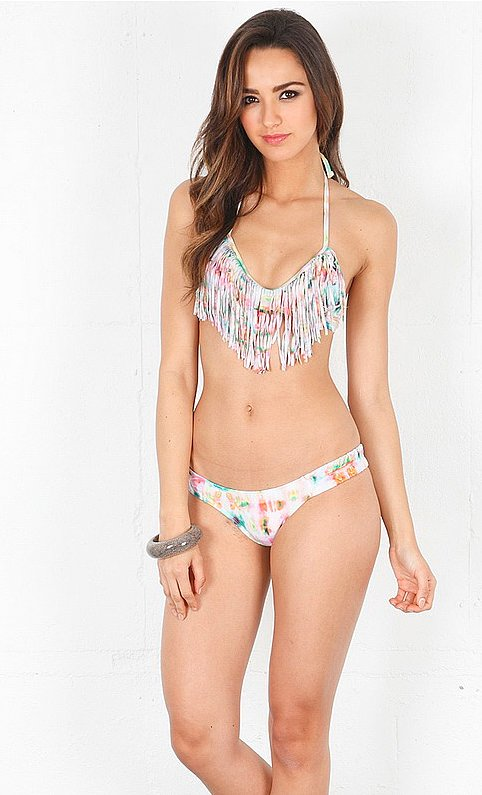The fringe of this L*Space bikini ($152) adds dimension and movement to your overall bikini look.