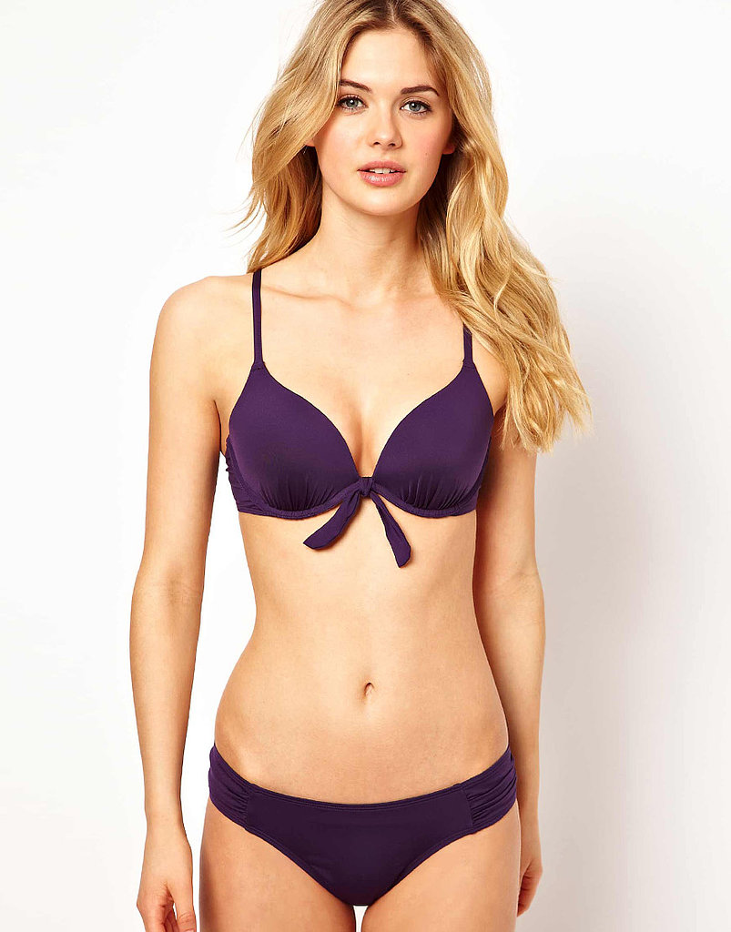 The surest way to fake a bigger bust? Padding. Try the tactic in this O Beach set ($30).