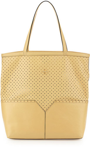 Pour la Victoire Provence Perforated Tote Bag, Butter