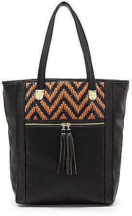 Kate Landry Mona Weave Tote Bag