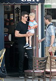 Robin Thicke Celebrates a Successful Summer With His Son
