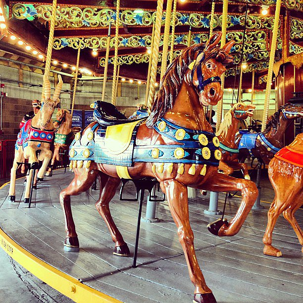 Carousels are the new polo matches. Source: Instagram User katrindell