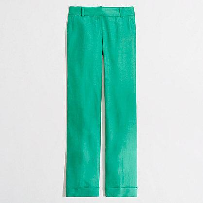 Factory Addison trouser in linen