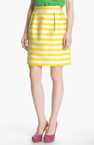 Kate Spade New York 'barry' Silk Blend Skirt