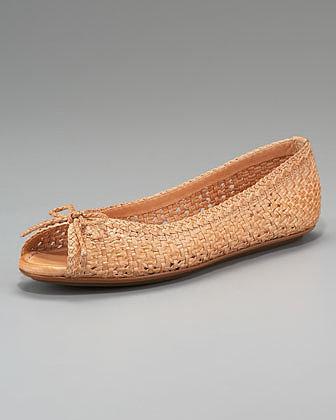 Frye Malorie Woven Ballerina Flat