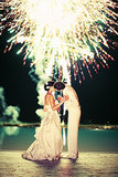 Talk about a stunning ending to a wedding! Photo by Gia Canali Photography via Style Me Pretty