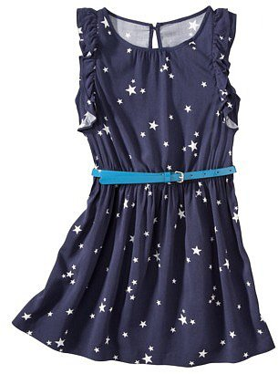Cherokee® Girls' Sleeveless Dress