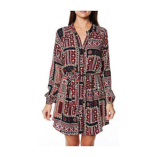 I've always loved Tigerlily's boho-beach vibe, and this print is a bit more of a Winter-appropriate take on the look. The fact that it's a shirt dress with long sleeves is a bonus, I quite enjoy the '70s vibe. — Genevieve, associate editor Dress, $169.95, Tigerlily