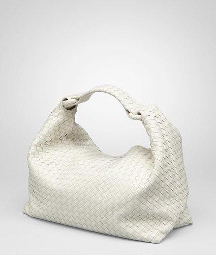 Platre intrecciato light calf sloane bag