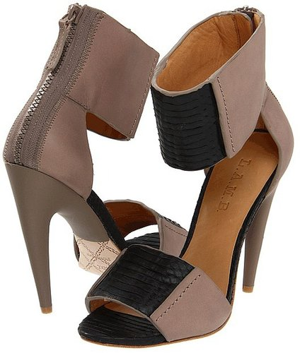 L.A.M.B. - Mya (Black/Elephant) - Footwear