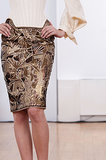 Spotted: An haute pencil skirt on the Julien Fournie Haute Couture Fall 2013 runway.