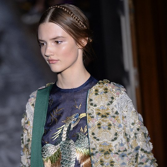 Valentino Hair | Paris Couture Fashion Week 2013