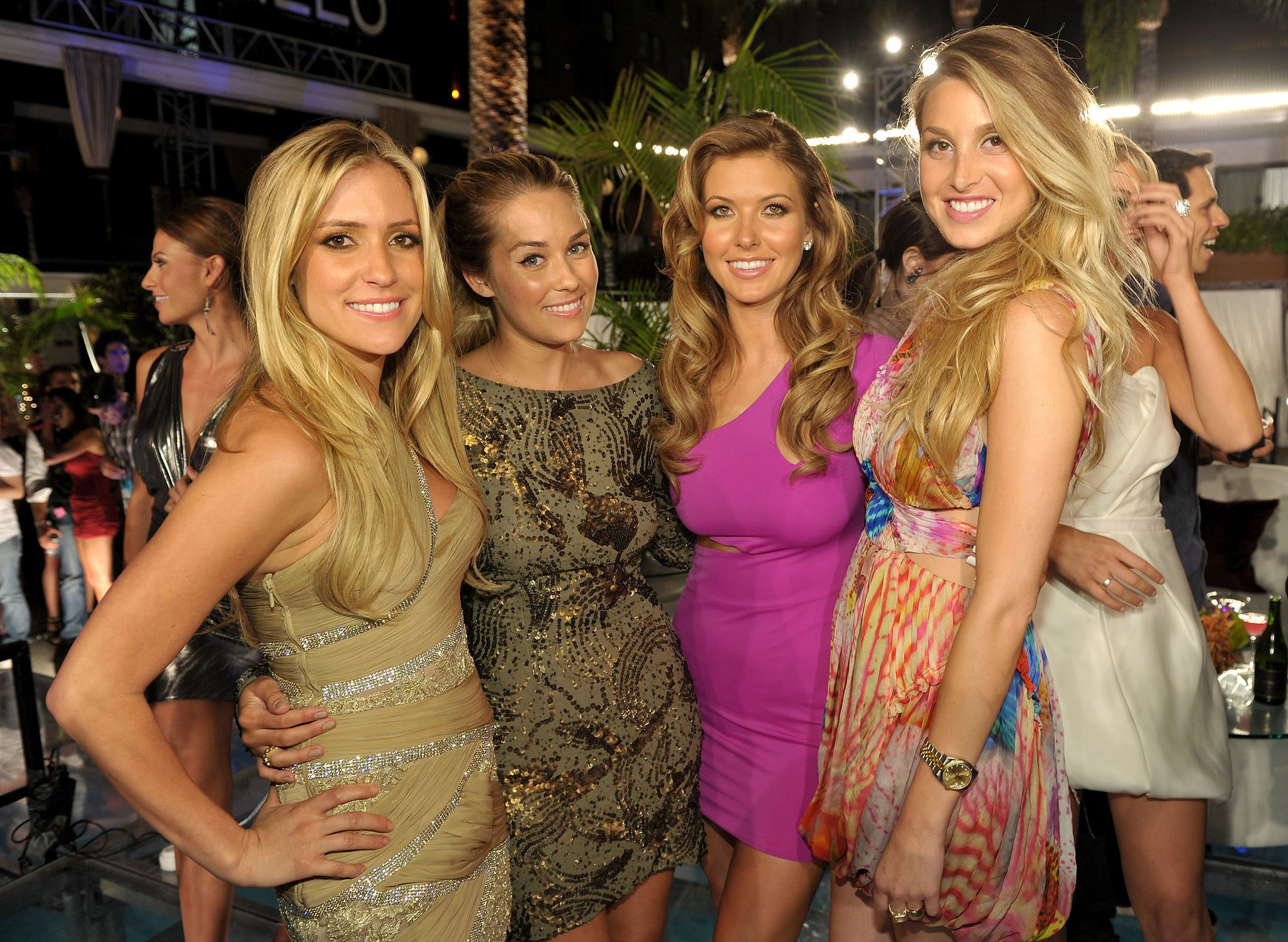 Kristin Cavallari  Whitney Port  Audrina Patridge  and Lauren Conrad    Lauren Conrad And Kristin Cavallari 2013