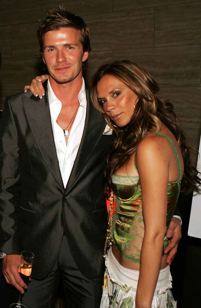 Victoria supported her husband at the launch party for The David Beckham Academy in Beverly Hills in June 2005.