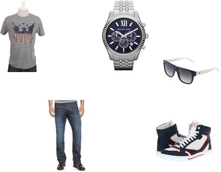 MICHAEL Michael Kors, Zoe Adams, Versace, Levi's