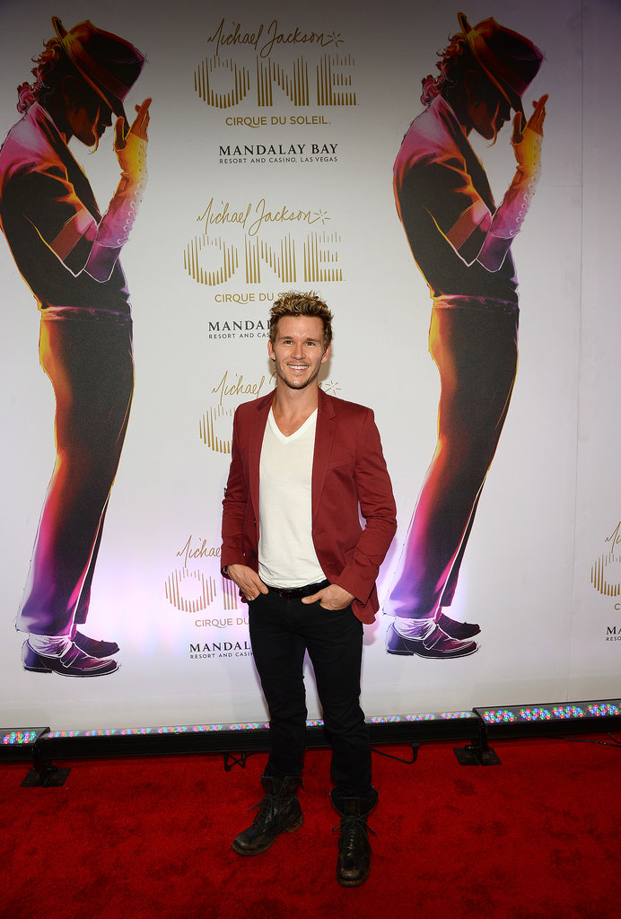Ryan Kwanten made an appearance at the Michael Jackson ONE by Cirque du Soleil world premiere in Las Vegas on June 29.