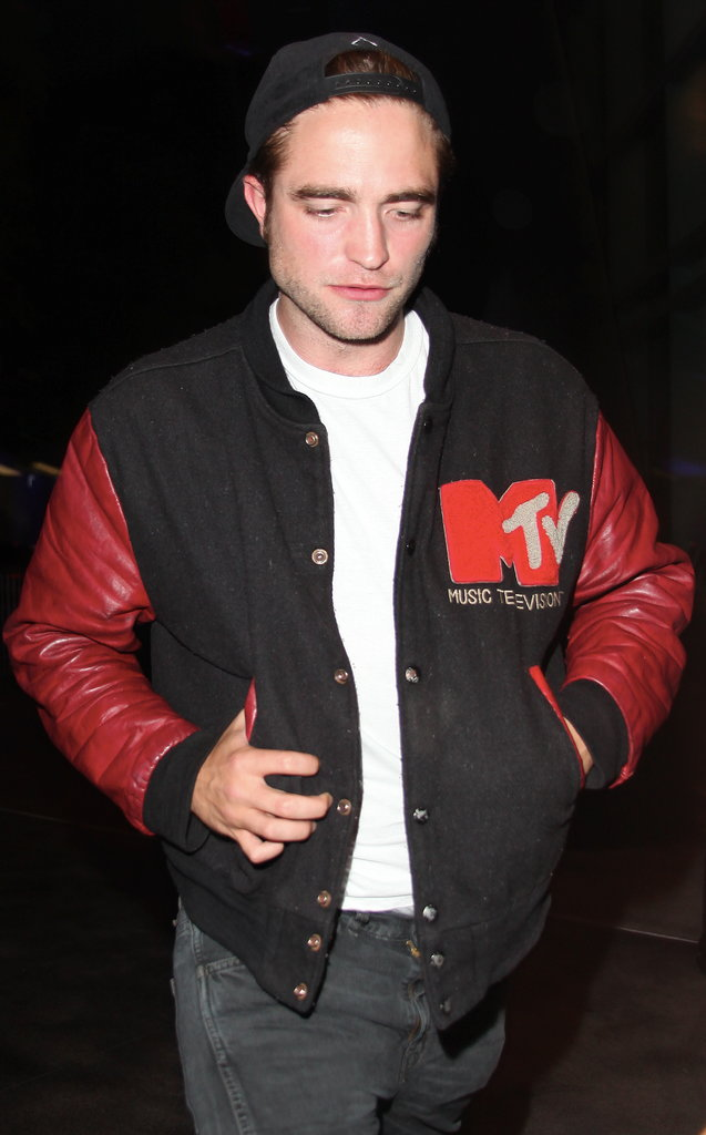 Robert Pattinson was just one of many celebrities in attendance at Beyonce's Mrs. Carter World Tour concert in LA on July 2.
