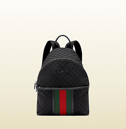 original GG canvas backpack
