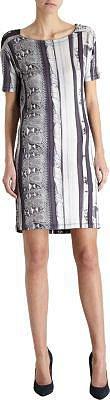 MM6 Cowl Neck Printed Dress