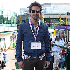 Celebrities At 2013 Wimbledon: Bradley Cooper & Girlfriend