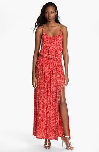 Tracy Reese Print Jersey Maxi Dress