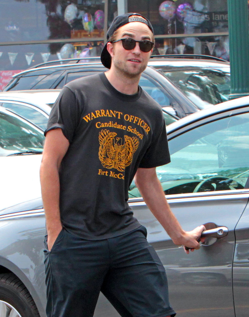 Robert Pattinson Stocks Up For the Weekend as Dating Rumors Dissolve