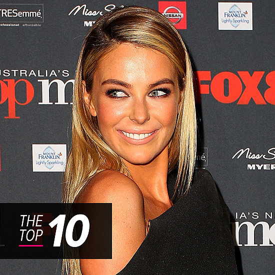 Jennifer Hawkins Leads This Week's Top 10 Celebrity Beauty Looks