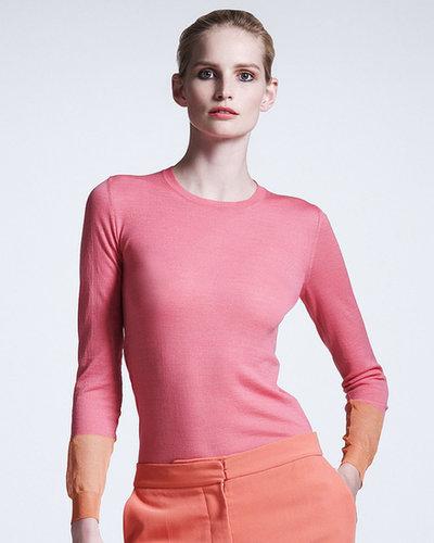 Stella McCartney Colorblock-Cuff Sweater