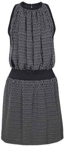 Preorder Bouchra Jarrar Lattice Print Cocktail Dress