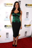 Vergara had us green with envy rocking an emerald leopard-print sheath dress at the 2010 Gay, Lesbian, & Straight Education Network Awards in Beverly Hills.