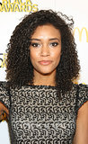 With loads of curls and bold brows, Annie Ilonzeh showed off an amazingly wearable look on the red carpet.
