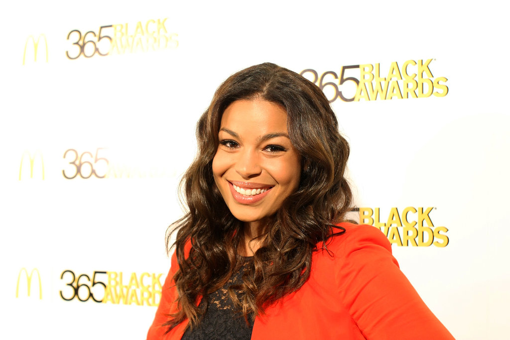 Textured locks and simple eyeliner were a gorgeous look on Jordin Sparks.